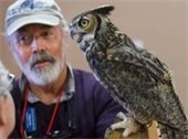 Photo of Aaron Cantrell, owl expert