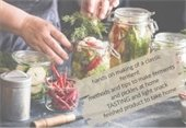 Veggies in jars