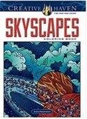 Creative Haven Skyscrapes coloring book cover