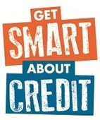 Graphic that says Get Smart about Credit