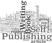 Word cloud about writing