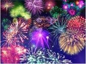 Galaxy of Fireworks