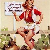 Cowgirl Christmas logo