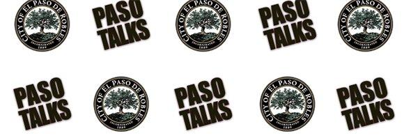 City Seal and Paso Talks Logo