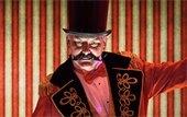 evil circus ringleader