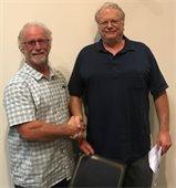 Michael Nunno with Jim Reed