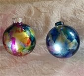 Handpainted ornaments