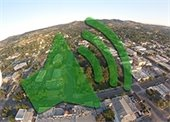 aerial of Paso with volume icon overlaid