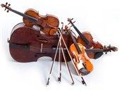 Various string instruments