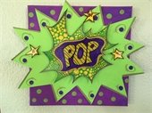 Pop art image