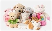 Photo of group of stuffed animals