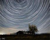 Star trails image