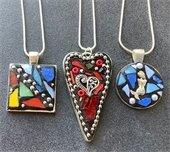 Mosaic necklaces