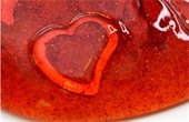 Red slime with heart