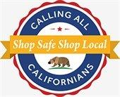 Shop Safe Shop Local logo
