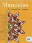 Graphic of Mandalas coloring book cover