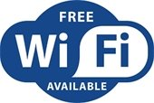 Free WiFi available graphic
