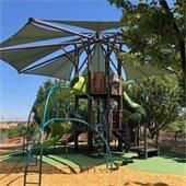 New playground at Barney Schwartz Park