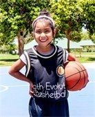 Girl with basketball