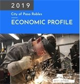 Front cover of 2019 Economic Profile for Paso Robles 2019