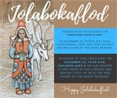 Jolabokaflod graphic