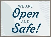 Open and Safe logo