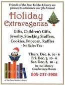 Holiday Extravaganza flyer