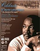 MLK Celebration flyer
