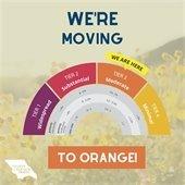 Orange tier graphic