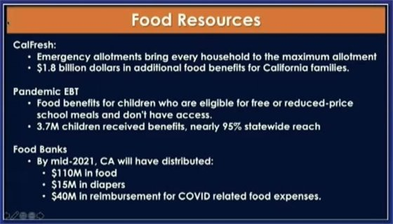 Food resources slide