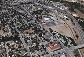 Roadway Safety - city aerial photo