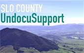 SLO County Undocusupport graphic