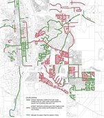 Streets map showing completed, approved and proposed street repairs.