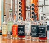 Re:Find Distillery images - bottles with still in background