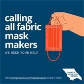 Calling all fabric mask makers