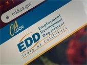 EDD logo on screen