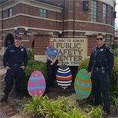 Virtual Easter Eggs in front of PRPD