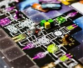 Galaxy Trucker game board