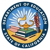 CA Department of Education logo
