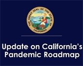 State Pandemic roadmap graphic