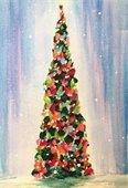 Holiday Tree art