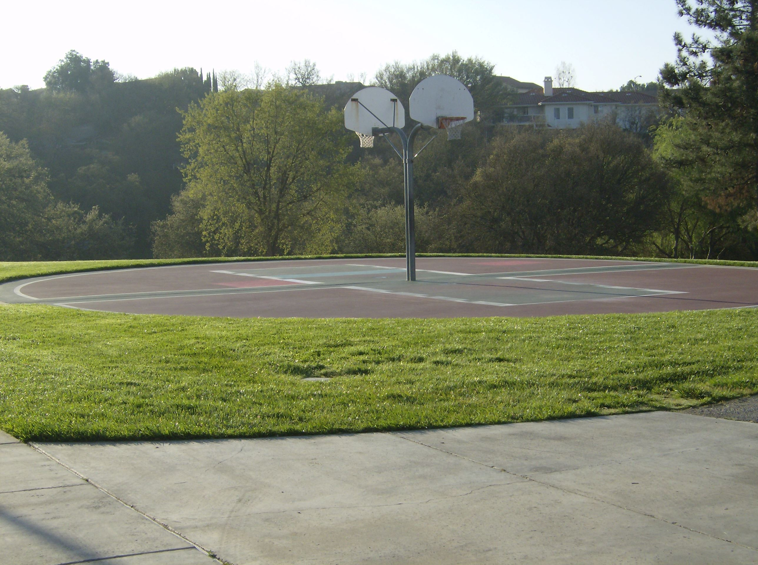 Centennial Park Outdoor Basketball Court