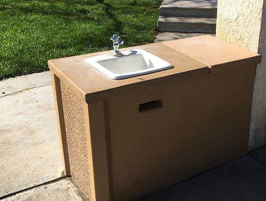 Centennial Barbecue Sink