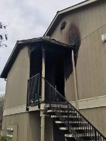 Alamo Structure fire March 19,2019