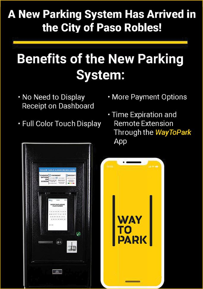 A new parking system has arrived in Paso Robles! Find out more...