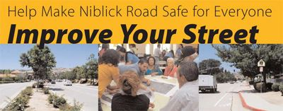 Help make Niblick Road safe for everyone/Improve your street