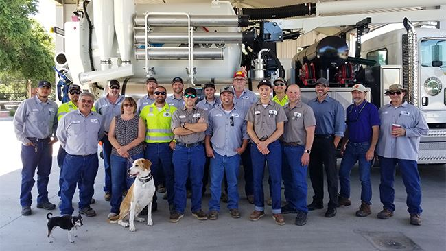 Wastewater Division Team Group Photo